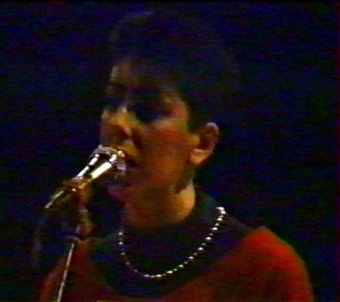 BIFF, BANG, POW !, Reims, 25/10/1986 : Christine Wanless