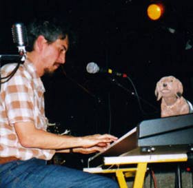 Howe Gelb with Giant Sand, Nantes, october 25th 2000