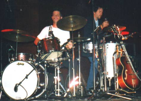 John Convertino & Tom Larkins, Nantes, 25 octobre 2000