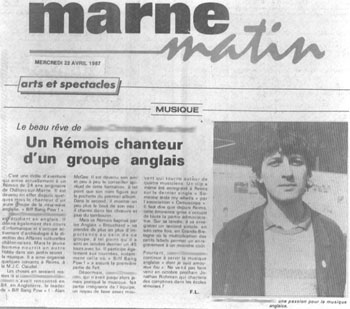L'Union de Reims, 22 avril 1987